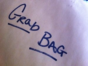 grab bag close up