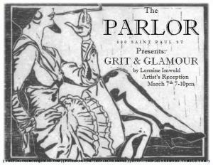 Parlor grit poster clean